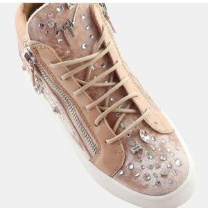 Giuseppe Zanotti Veronica Crystal Dual Sneaker